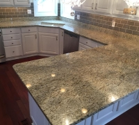 Giallo Verona Granite Kitchen