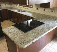 Rio Granite with Demi Edge