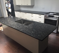 Steel Grey Granite Kitchen