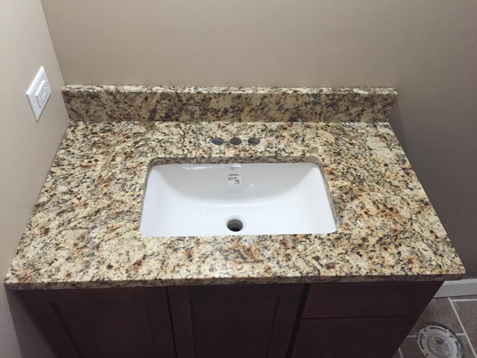 Countertop Sink Installation Bloomington IL - Bathroom remodel bloomington il
